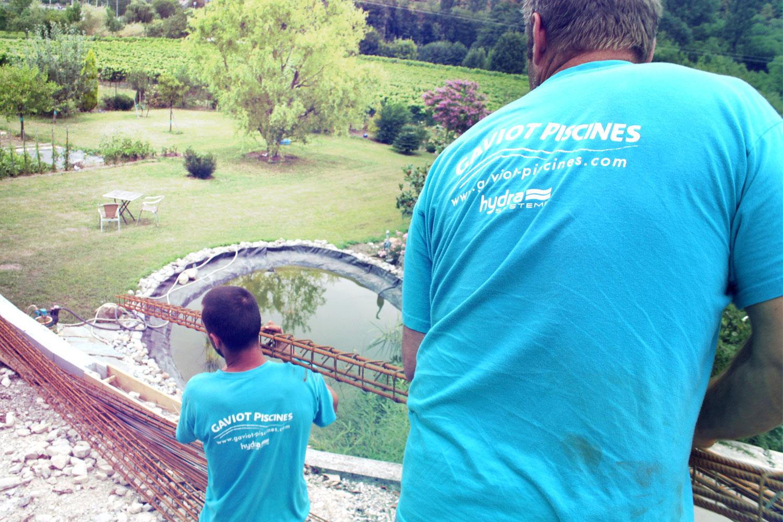 Votre projet piscine clef en main terrassement for Construction piscine 65